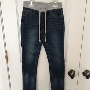 Justice Jeggings, worn once